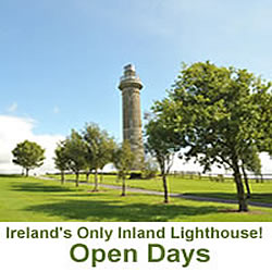 Ireland's only inland lighthouse.